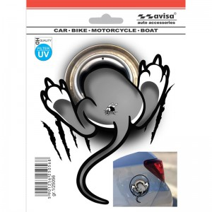 Stickers AutoTattoo 3D Sticker Mouse - 12x14,5cm AV 125056 5901256250568