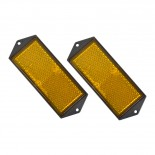 Carpoint Reflector oranje 104x40mm