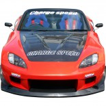 Chargespeed Breedbouwset 'Wide-Body' passend voor Honda S2000 AP1 Super GT Style (FRP) (excl diffuser 2223)