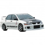 Chargespeed Voorspatborden Mitsubishi Lancer EVO 7/8/9 CT9A (FRP) +20mm