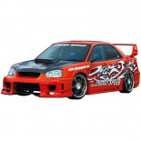 Chargespeed Breedbouwset 'Wide-Body' Subaru Impreza GD# 'Super GT' + 3D flap