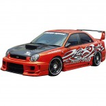 Chargespeed Voorspatborden Subaru Impreza GD# (A/B) 'D-1 Style'