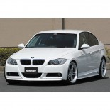 Chargespeed Voorspoiler passend voor BMW 3-Serie E90/E91 Sedan/Touring 'M-Sports' 2005- 'Bottomline' (FRP)