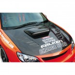 Chargespeed Motorkap Subaru Impreza GDB (F/G) excl. luchthapper (FRP)