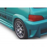 Carzone Spatbordverbreder Linksachter Peugeot 106 MKII 1996- 'Nitro'