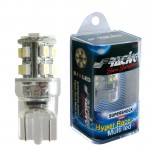Simoni Racing T10 12+3-LED 'Hyper Multi' Lampen - Superwhite - Set à 2 stuks
