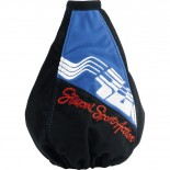 Simoni Racing Pookhoes Sport Action - 150x150mm/Ø190mm - Zwart/Blauw Microfiber