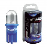 Simoni Racing T10 1-LED 'Spot' Lampen - Wit - Set à 2 stuks