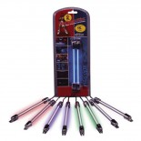 "Set Mini Neon LightRods interieurverlichting - Wit - 2x10cm (2x4"""")"