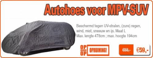 Autohoes voor MPV-SUV